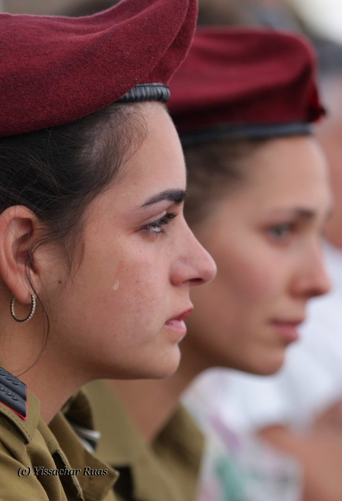 Yad Lebanim Ceremony 21/04/15  © Yissachar Ruas