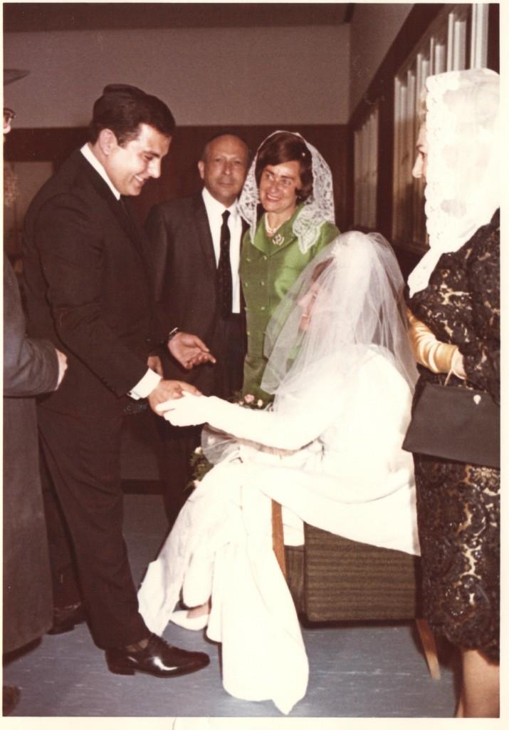 My parents wedding: April 23, 1967