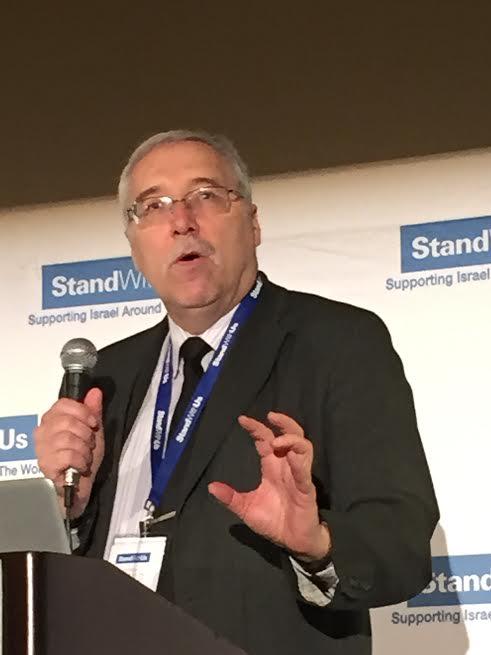 NGO Monitor Director Gerald Steinberg speaks