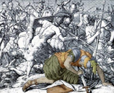 King Saul's death