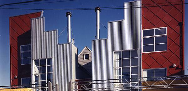 Urban design starter homes