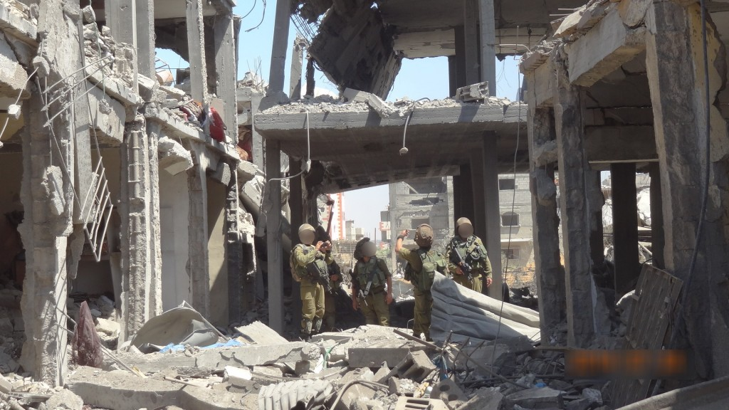 Another image from Operation Protective Edge.