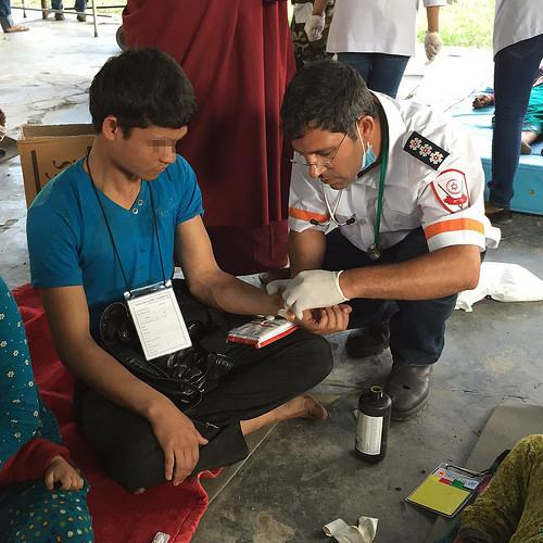 MDA aid mission in Nepal  (Photo: MDA Spokesperson)