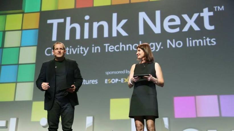 Think Next, hosted by Microsoft's Zack Weisfeld and Dana Porter Rubinshtein (Photo credit: Microsoft)