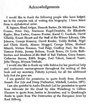 The Acknowledgements include both my parents, Gloria and Nigel Marsh