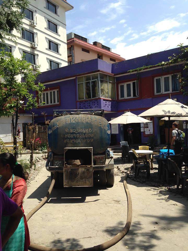 Beit Chabad in Kathmandu - place of refuge for hundreds