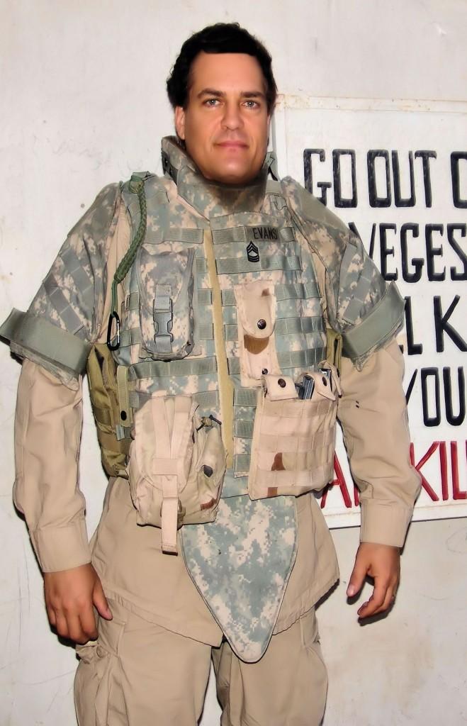 Fumento body armor sign