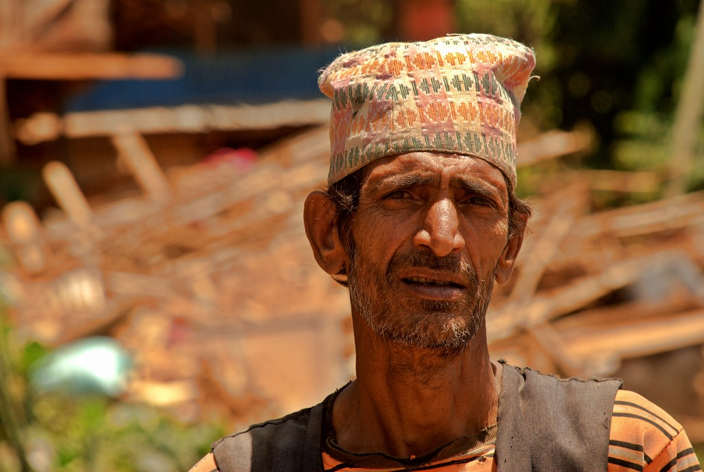 Head of village, Nepal (Photo: Josh Simons/World Jewish Relief)