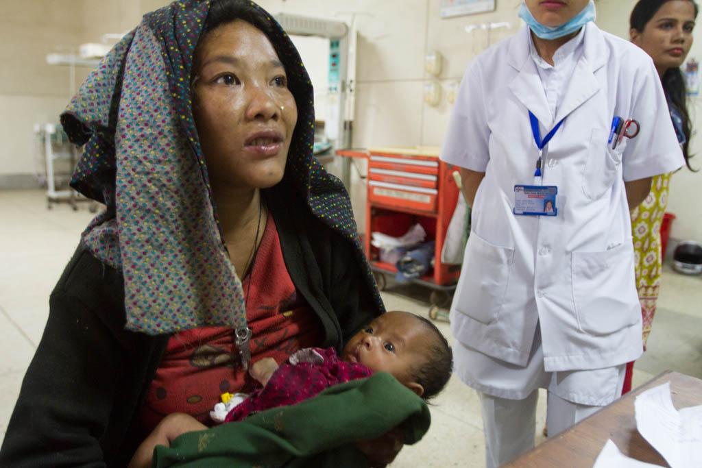 Nirjan and his mother arrive safely in Kathmandu.