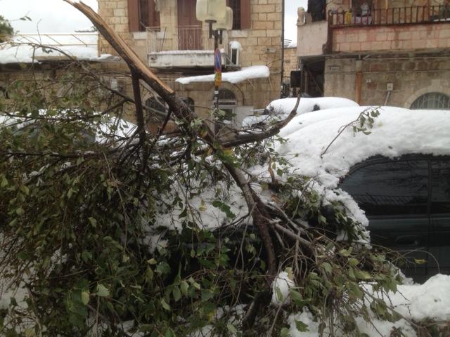Jerusalem Storm Dec. '13