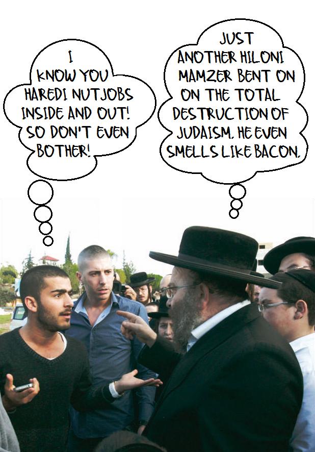 Secular v Haredi