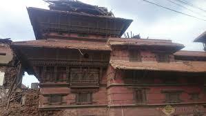 Temple Damaged