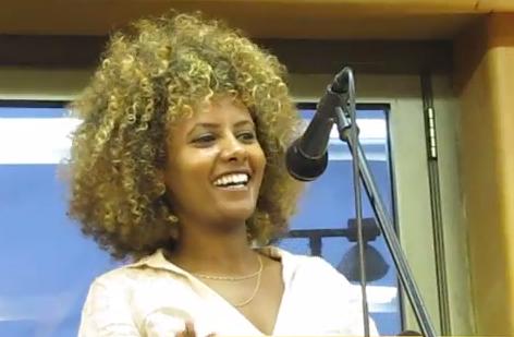 Ethiopian Israeli success story, Meytal Zauda.