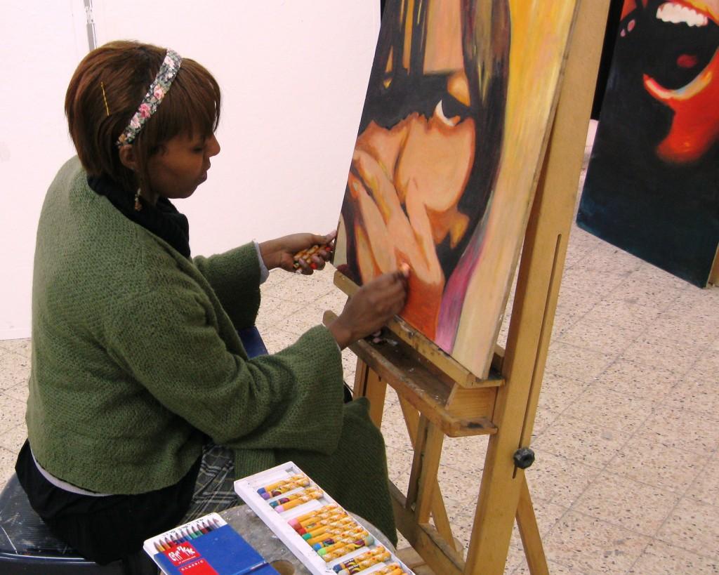 Talented Ethiopian student at Emunah College
