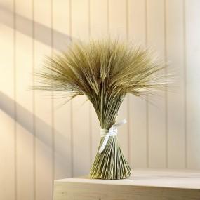hand-tied barley bundle