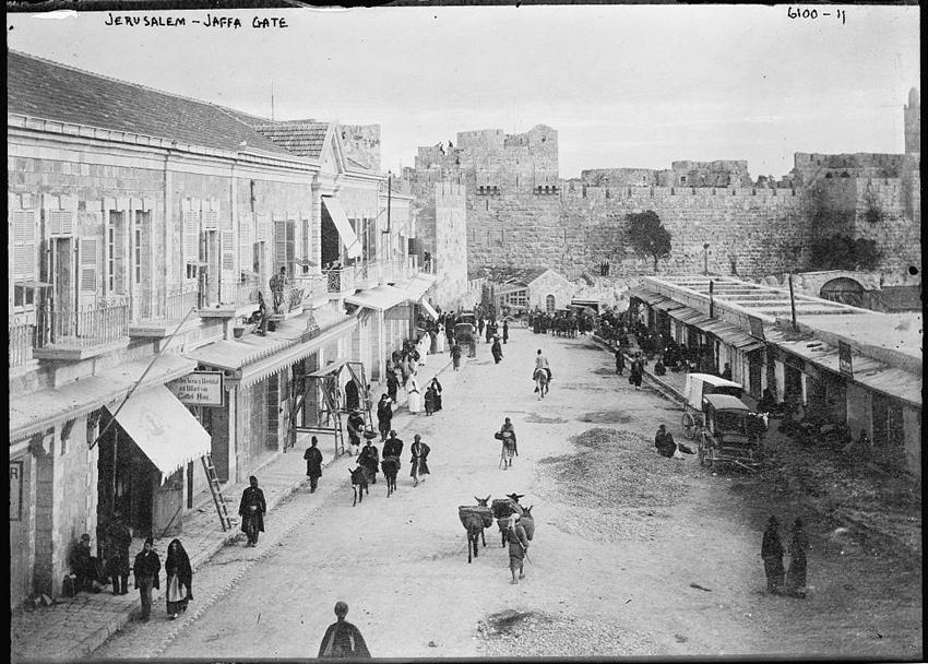 Image result for king david street jerusalem 1900