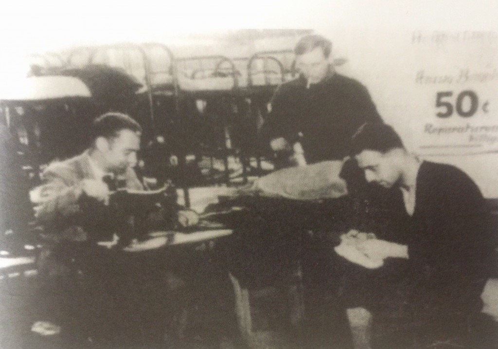 Busy working at sewing machines (Photo Credit: CC - BY Shanghai Collection of United Nations Archives, New York)