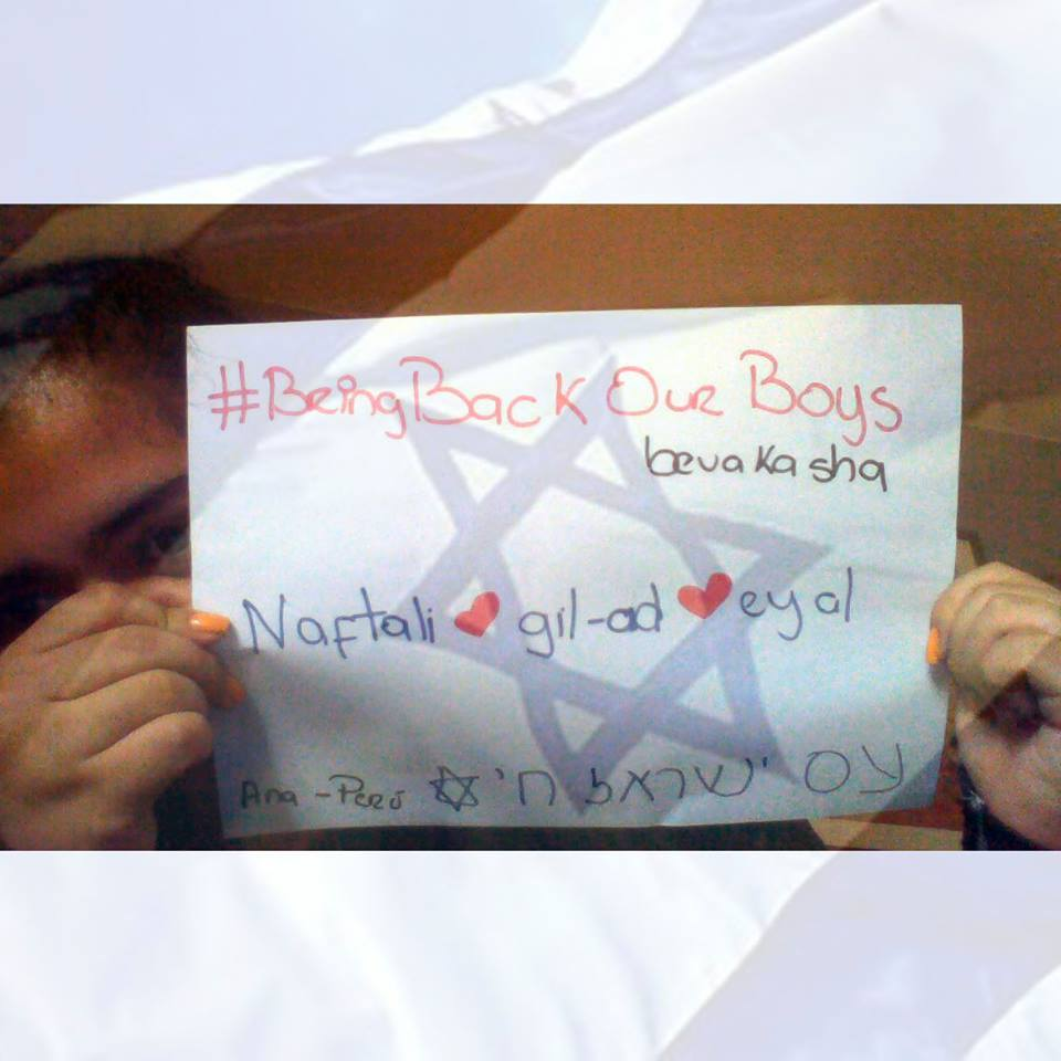 A year ago, joining the social media campaign #BringBackOurBoys