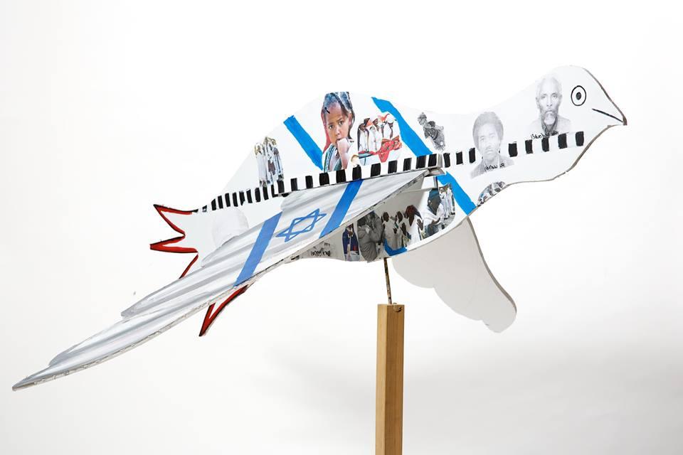 Making us soar - Bird Aliyah by Nofar Sereche from Gedera, Israel