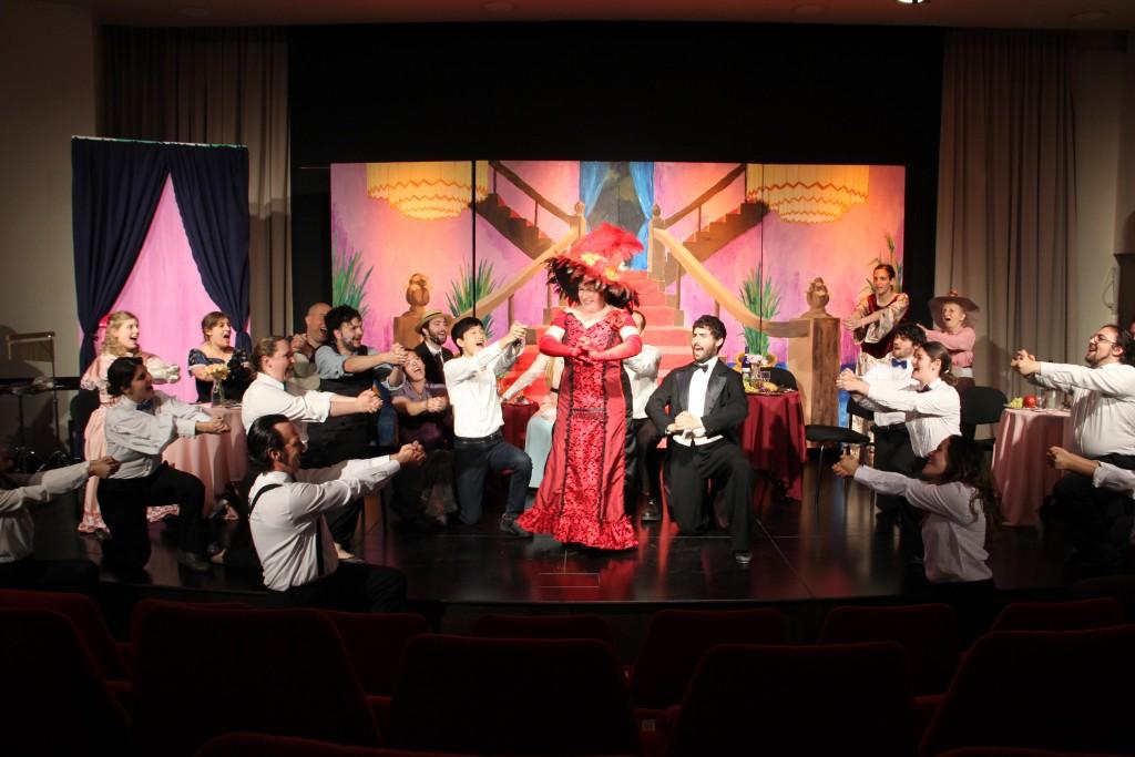 Hello Dolly cast - Photo courtesy: Laura Ben-David