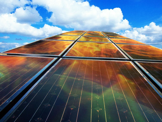 Combined solar energy and water heater