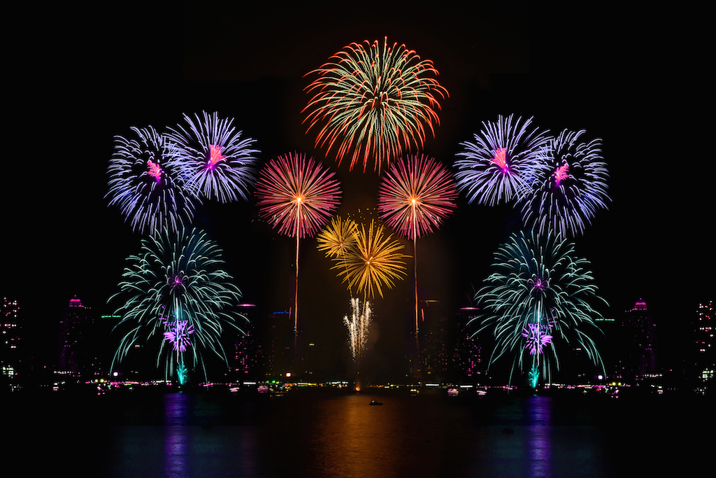 A fireworks display is a popular way to celebrate the Fourth of July — but it's not the only way. (Photo via Shutterstock)