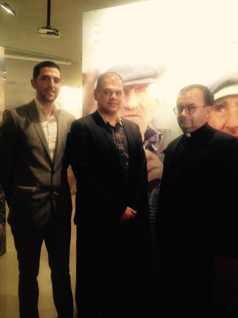 rom L-Patrice Bensimon, Marco and Father Patrick Desbois