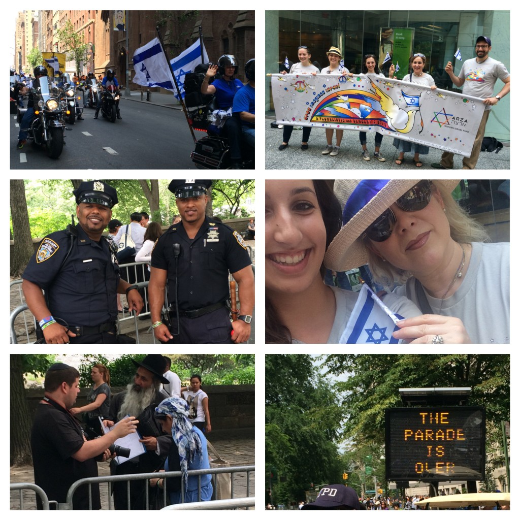 Scenes from NYC Israel Day Parade 2015