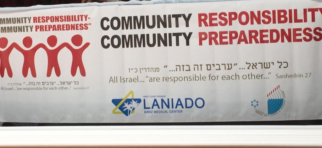 Responsibility, Prepardness event banner-photo N. Greenger