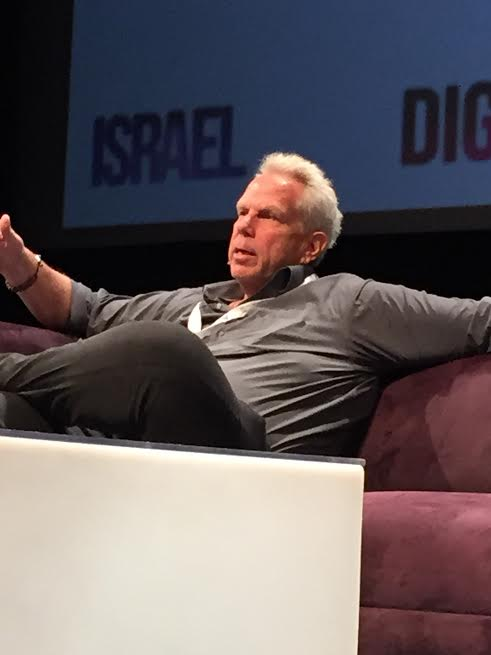 Participant, Steve Tisch, New Yourk Giants owner and a Film Mogul