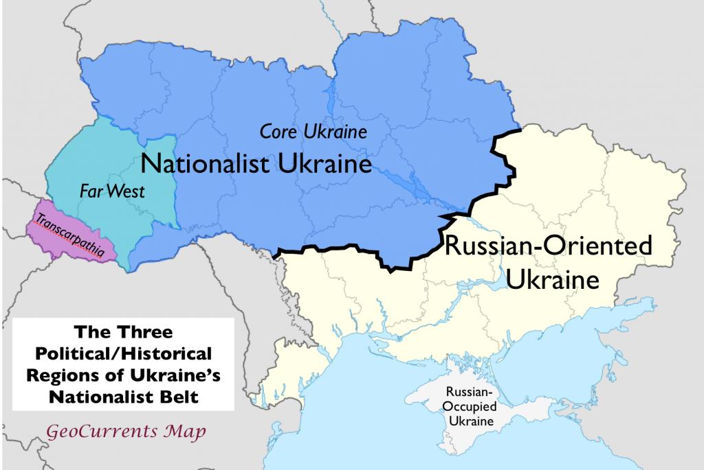 Ethnic Political Division of Ukraine
