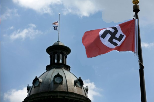 The Confederate Battle Flag may as well be a Swastika. It has the same effect.