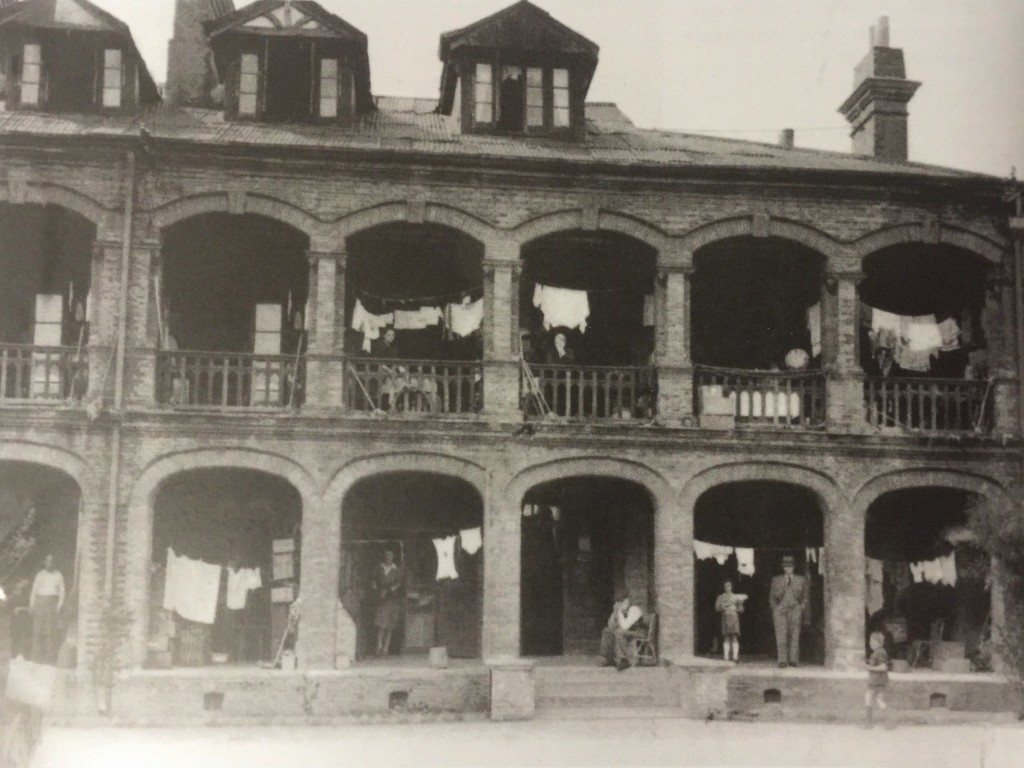 The Hongkew Ghetto before the end of war (Photo Credit: CC - BY Shanghai Jewish Refugees Museum)
