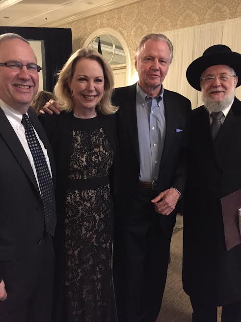 L-Ron B. Meier the executive director of the America Society for Yad Vashem, Mary Eisenhower, Jon Vought, Rabbi Lau