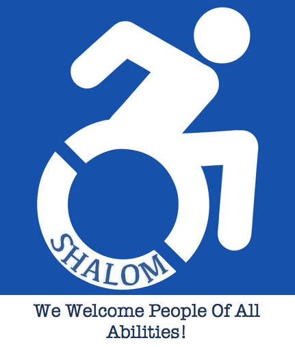 Accessible For All  shalom ADA logo