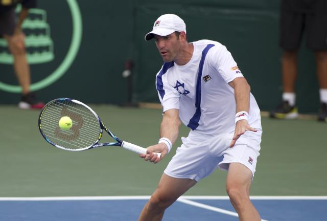 Yoni Erlich (photo credit: CC-BY Israel Tennis Association)