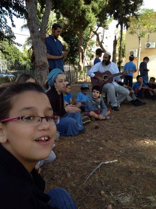 Gan Mayanot Rebbe Chiya outdoors