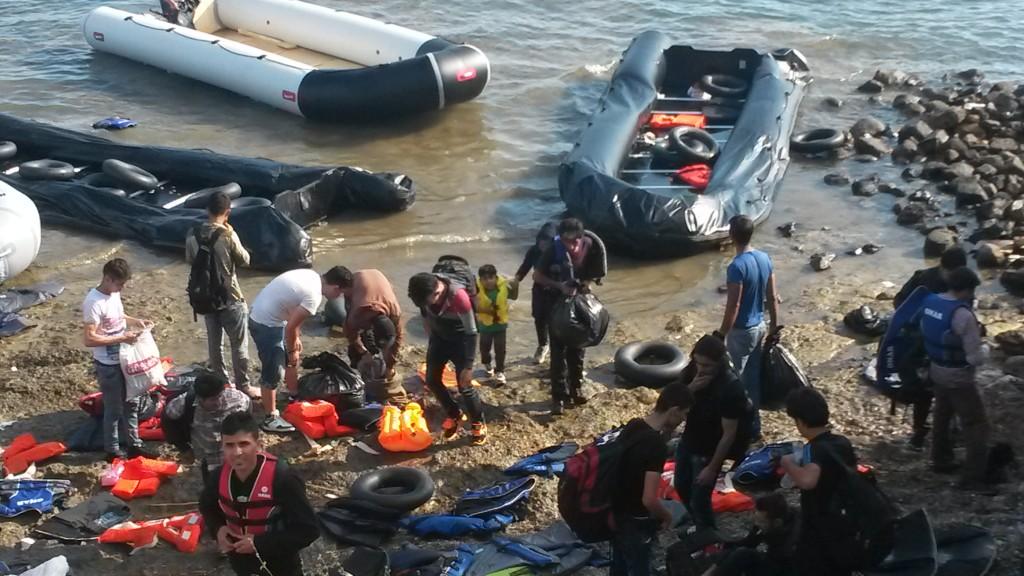 Greek Island Refugees