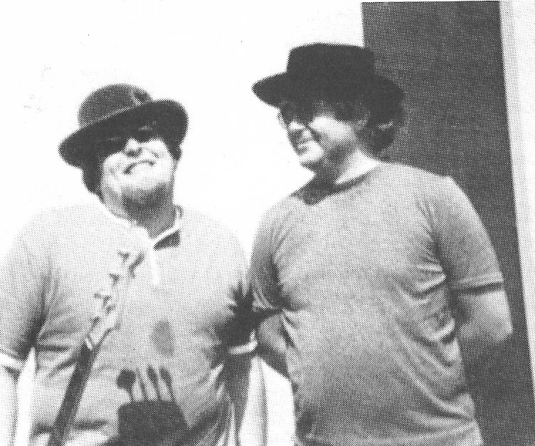 Harvey Brooks and Albert Grossman (Photo: courtesy of Harvey Brooks)