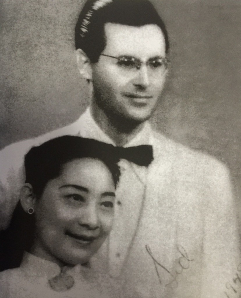 """Sidney Shapiro, born in Jewish family in Brooklyn, New York, came to China in 1947, where he later married the left-wing author and actress Fengzi and joined the Chinese Revolution (Photo Credit: CC - BY Shapiro, Sidney, My China, Beijing """"October"""" Arts and Literature Publishing House, 1988)"""