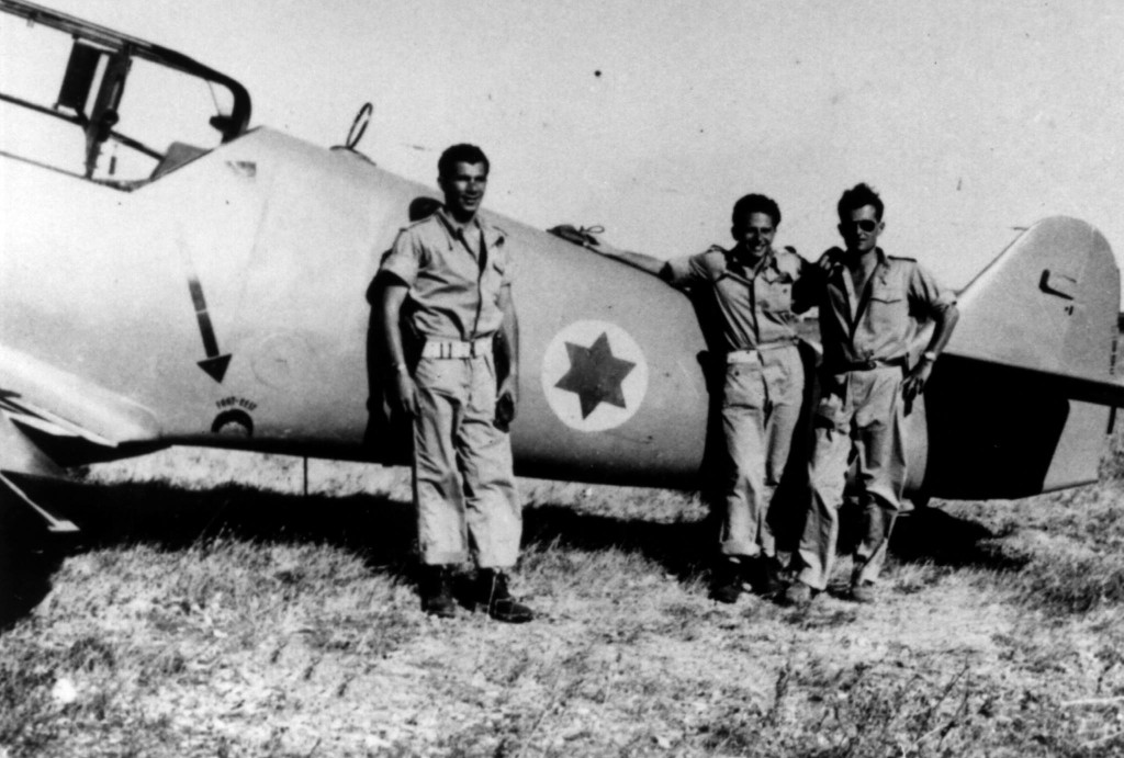Lou Lenart, Gideon Lichtman and Modi Alon flew subpar Messerschmitt fighter planes during the 1948 Arab-Israel War.
