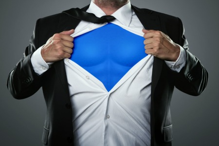 Wear your Superhero outfit
