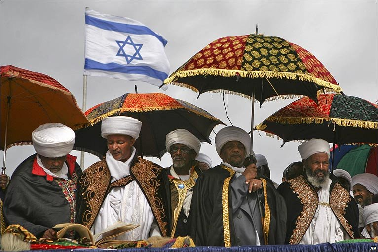 Ethiopian Jews in Israel. (AP).