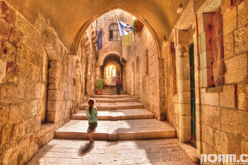 jerusalem-jewish-quarter-alleyways