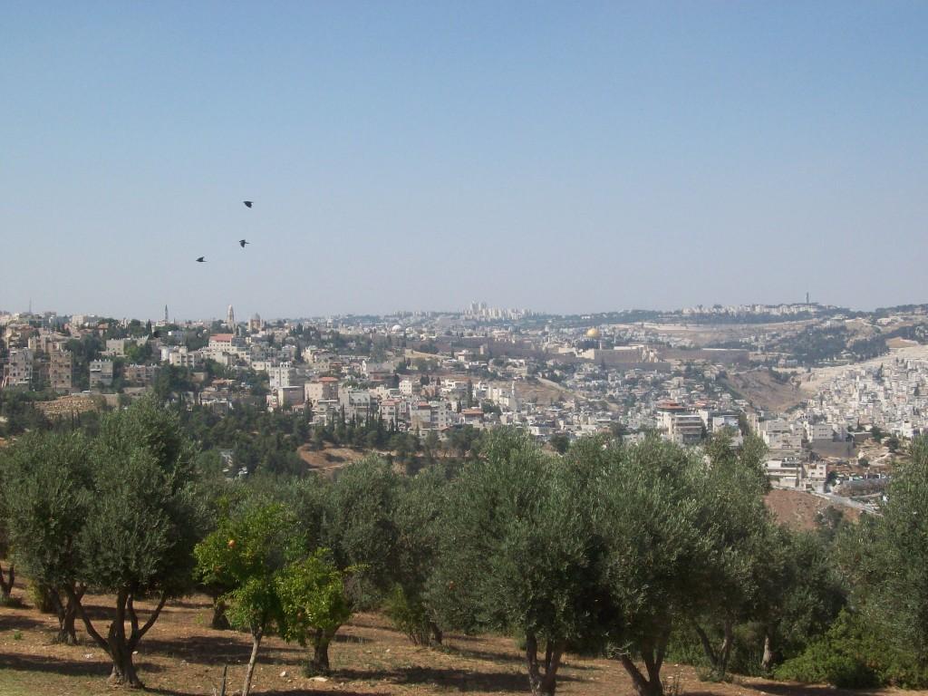View from the Armon HaNetsiv Tayelet.