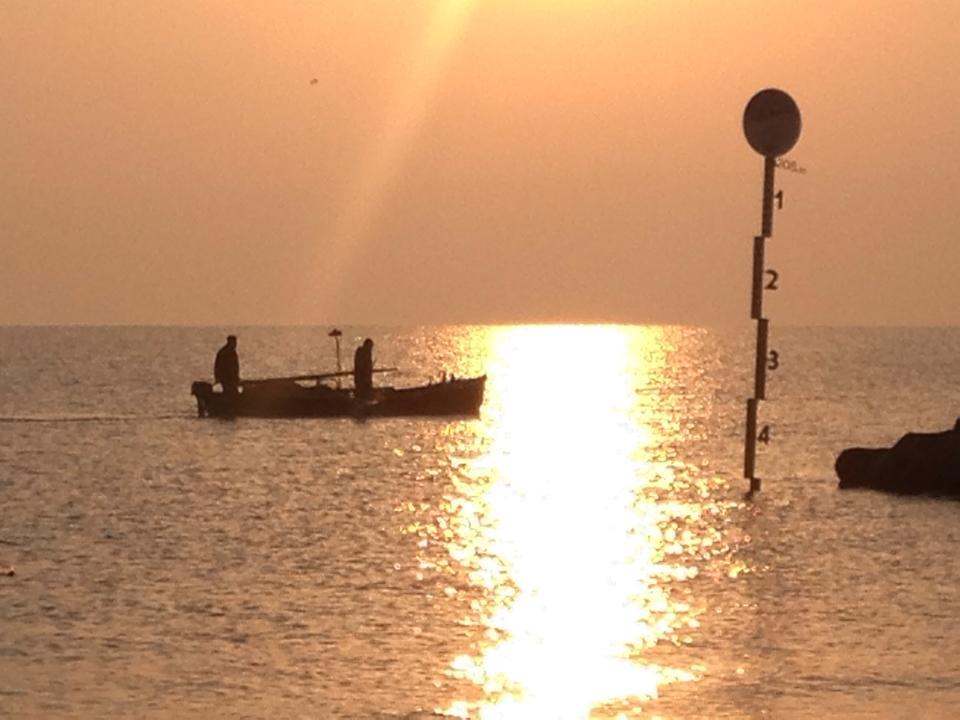 Greet the morning with awe. Sea of Galilee.