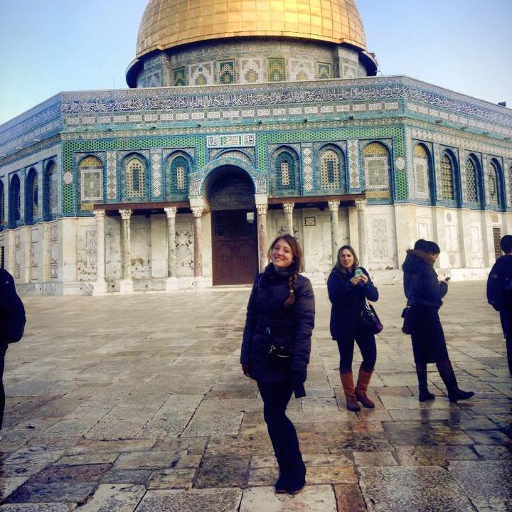 Temple Mount. Don't worry, I dipped in the Kinneret beforehand.