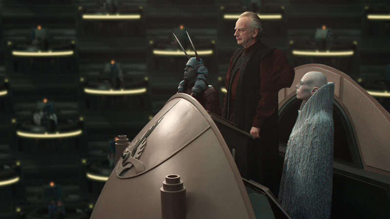 Supreme Chancellor Palpatine Accepting Power