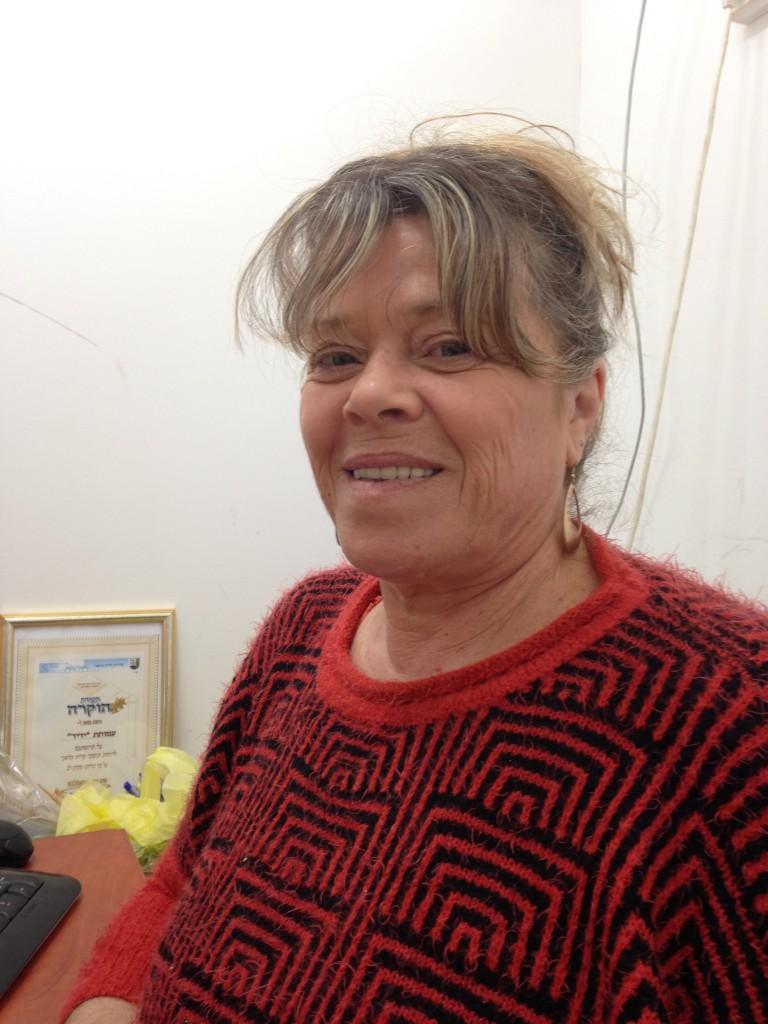 Yolande Elush, director of the YEDID Center at Kiryat Malachi, became like a family member to Moshe.