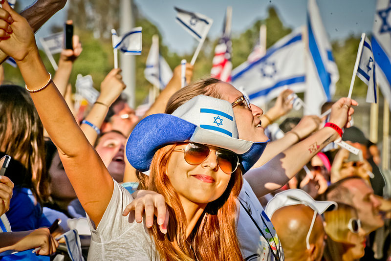 Celebrate Israel Festival, Los Angeles (Photo: Israeli American Council [CC BY-SA, Israeli American Council, Wikimedia Commons)